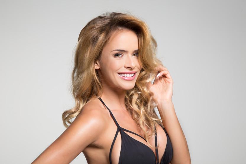 Monika Ordowska, modelka, prezenterka telewizyjna