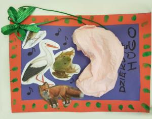 Podziękowania od małego pacjenta po plastyce uszu