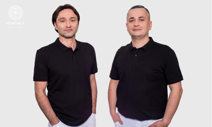 Dr Doni Allecou i dr Maciej Okła
