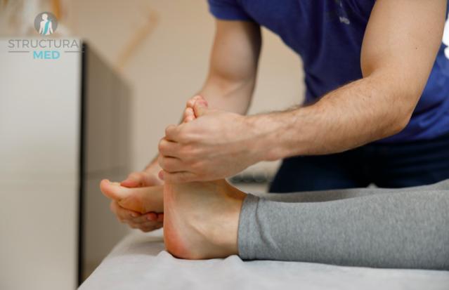 Ćwiczenia pooperacyjne - ruchy stopami
