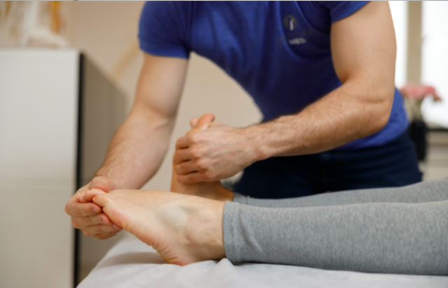 Ćwiczenia pooperacyjne - ruchy stopami 2