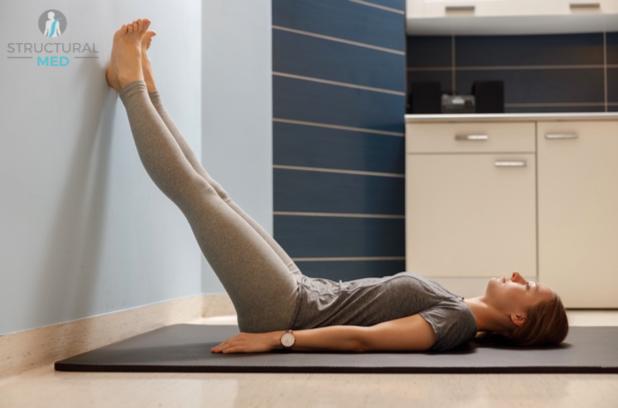 Ćwiczenia pooperacyjne - pozycja kończyn dolnych