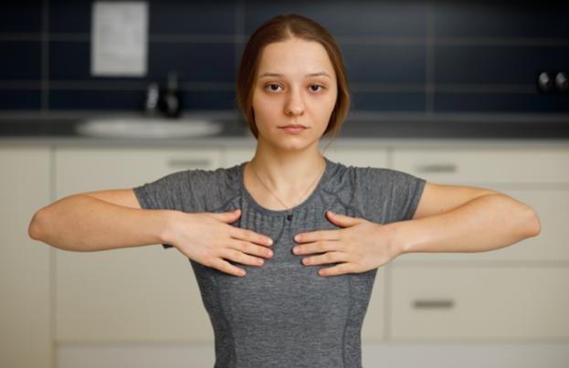 Ruchy kończynami górnymi - ćwiczenia pooperacyjne 2